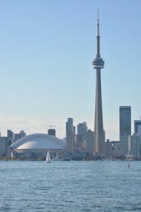 CN Tower vista desde una de las islas