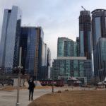 Downtown uno de los barrios de Toronto