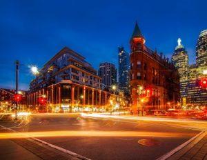 Edificio en el centro histórico de Toronto