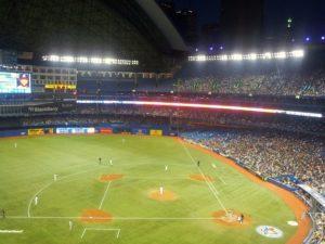 Un juego en el centre Rogers Toronto
