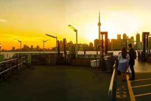 Vista desde las islas de Toronto