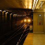 Interior del metro uno de los transporte en Toronto
