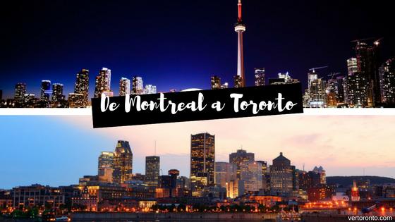 Como llegar de Montreal a Toronto