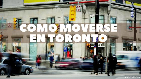 Detalle de los transportes en Toronto