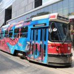 Tranvia un transporte en Toronto