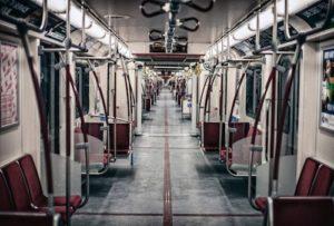 Interior del metro de Toronto