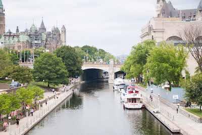 Visitar Ottawa y el canal rideau