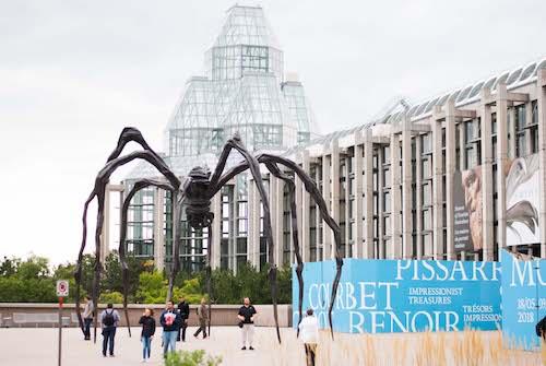 Visitar Ottawa en la galeria nacional de arte